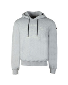 Paul & Shark Mens Grey Large Logo Overhead Hoody