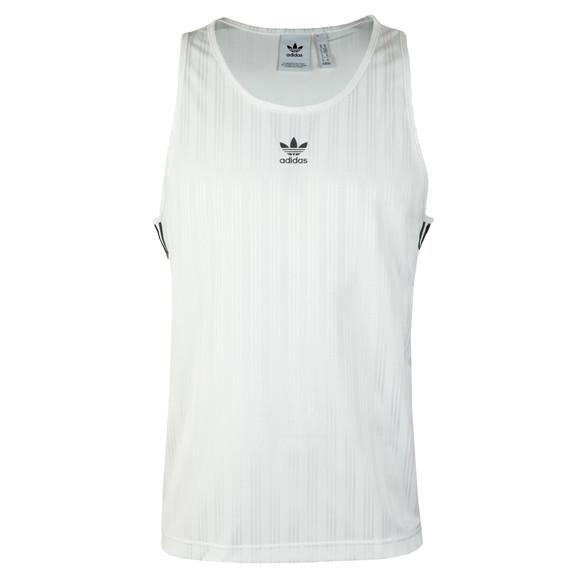 Adidas Originals Mens White Football Tank Top main image