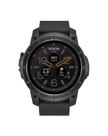 Nixon Mens Black Mission Smart Watch