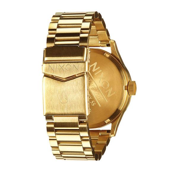 Nixon Mens Gold Nixon Sentry SS Watch main image