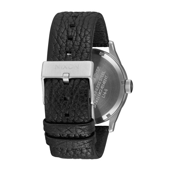 Nixon Unisex Black/Gunmetal/Black Nixon Sentry Leather main image