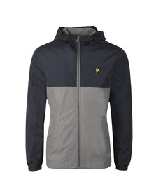 Lyle and Scott Mens Blue Colour Block Jacket