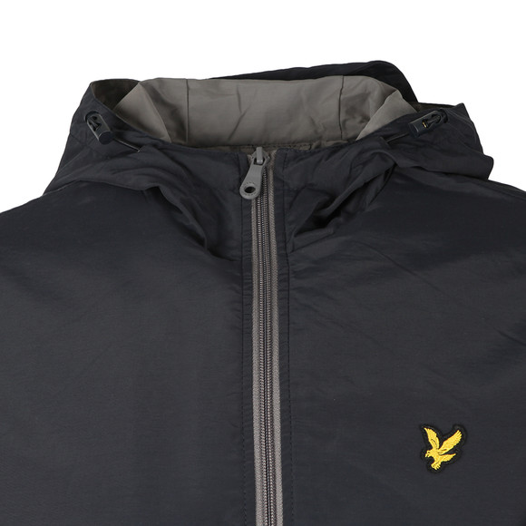 Lyle and Scott Mens Blue Colour Block Jacket main image