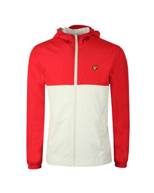 Lyle and Scott Mens Red Colour Block Jacket