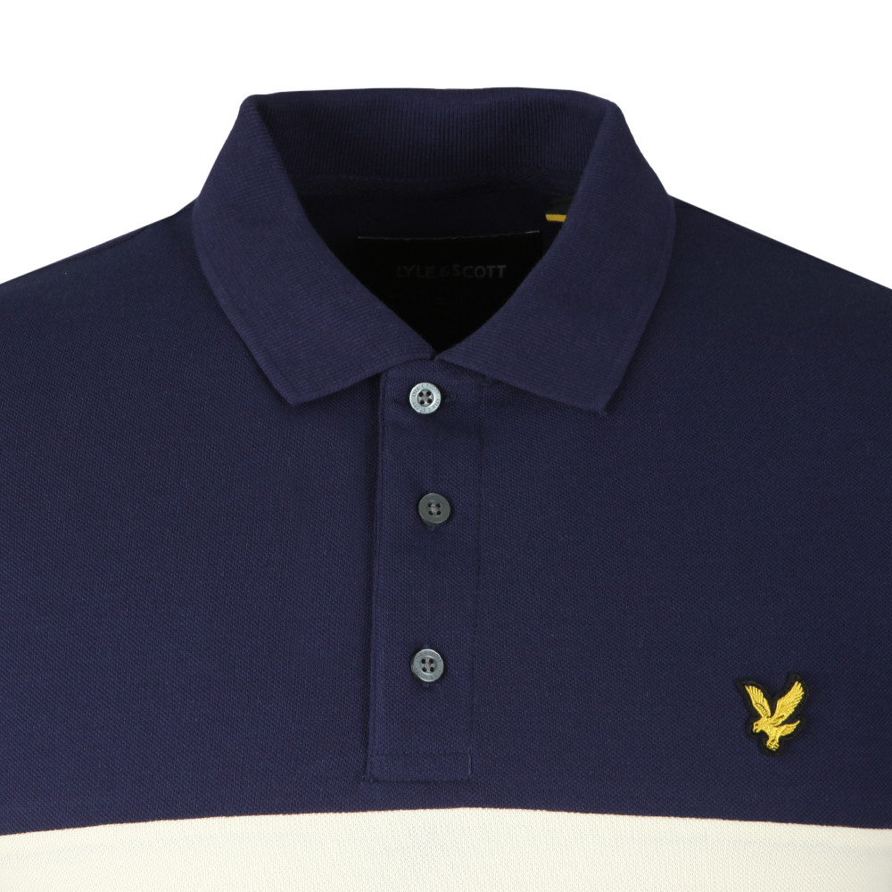 Yoke Stripe Polo Shirt main image