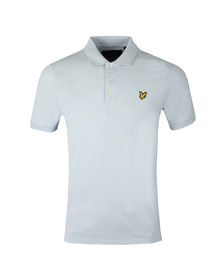 Lyle and Scott Mens Blue S/S Polo