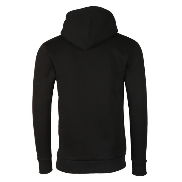 Fresh Couture Mens Black Large Logo Core Hoodie main image