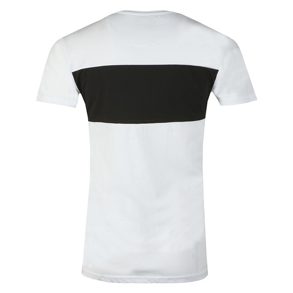 Fresh Couture Mens White Block T Shirt main image