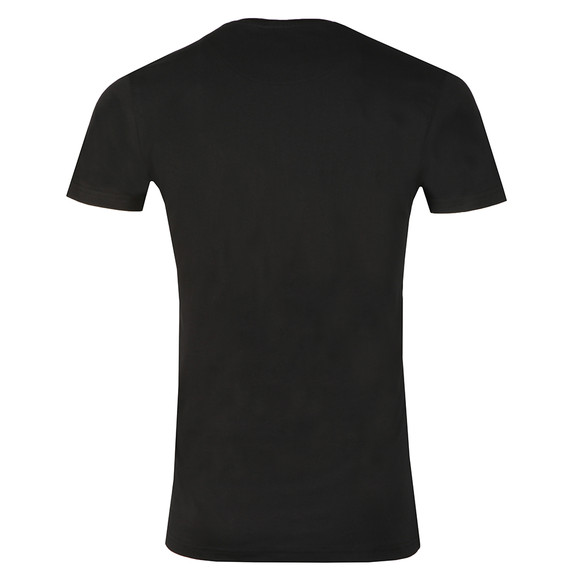 Fresh Couture Mens Black Core Large Logo T Shirt main image