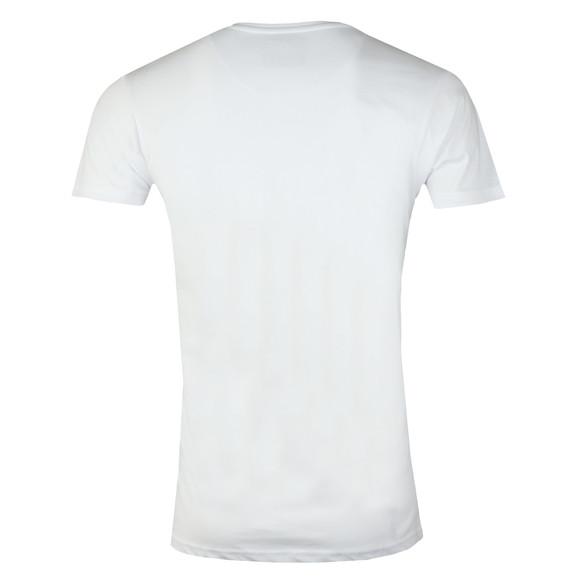 Fresh Couture Mens White Small Chest Logo T Shirt main image