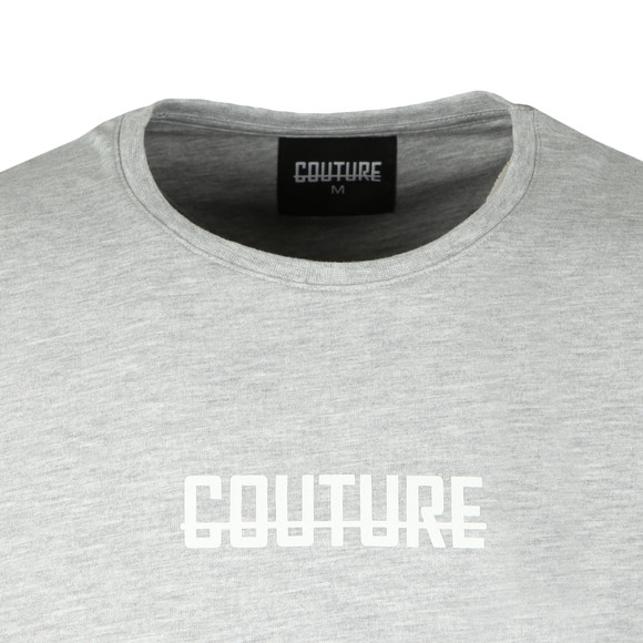 Fresh Couture Mens Grey Small Chest Logo T Shirt main image