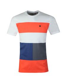 Luke Mens White Closer To The Wind T-Shirt
