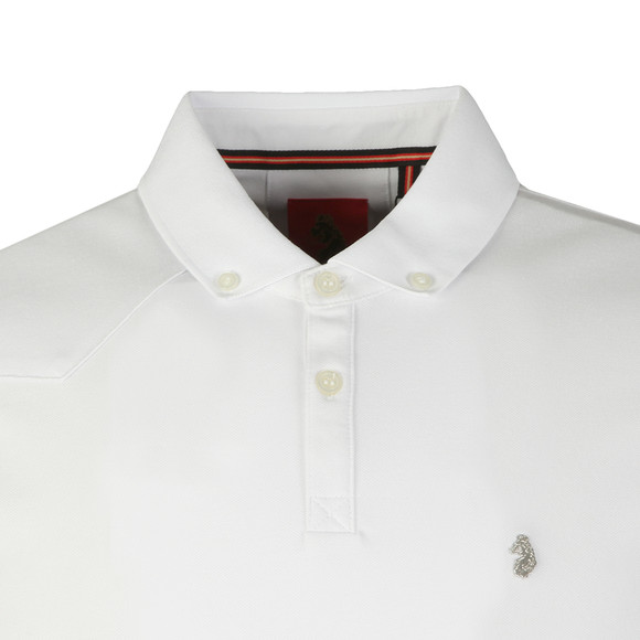 Luke Mens White S/S Billiam Polo main image