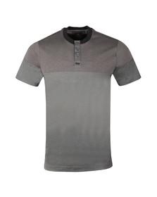 Luke Mens Black S/S Ribeyehen T-Shirt