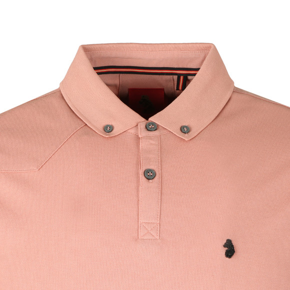 Luke Mens Pink Billiam OTM Polo main image