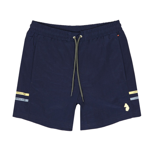 Luke Mens Blue Ragy Regular Swim Short main image