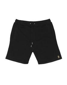 Luke Mens Black Amsterdam Sweat Short