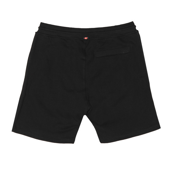 Luke Mens Black Amsterdam Sweat Short main image