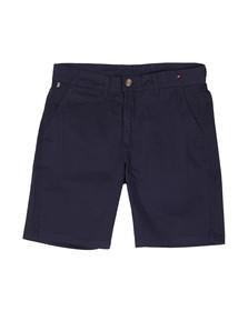 Luke Mens Blue Corbitt Tailored Chino Short
