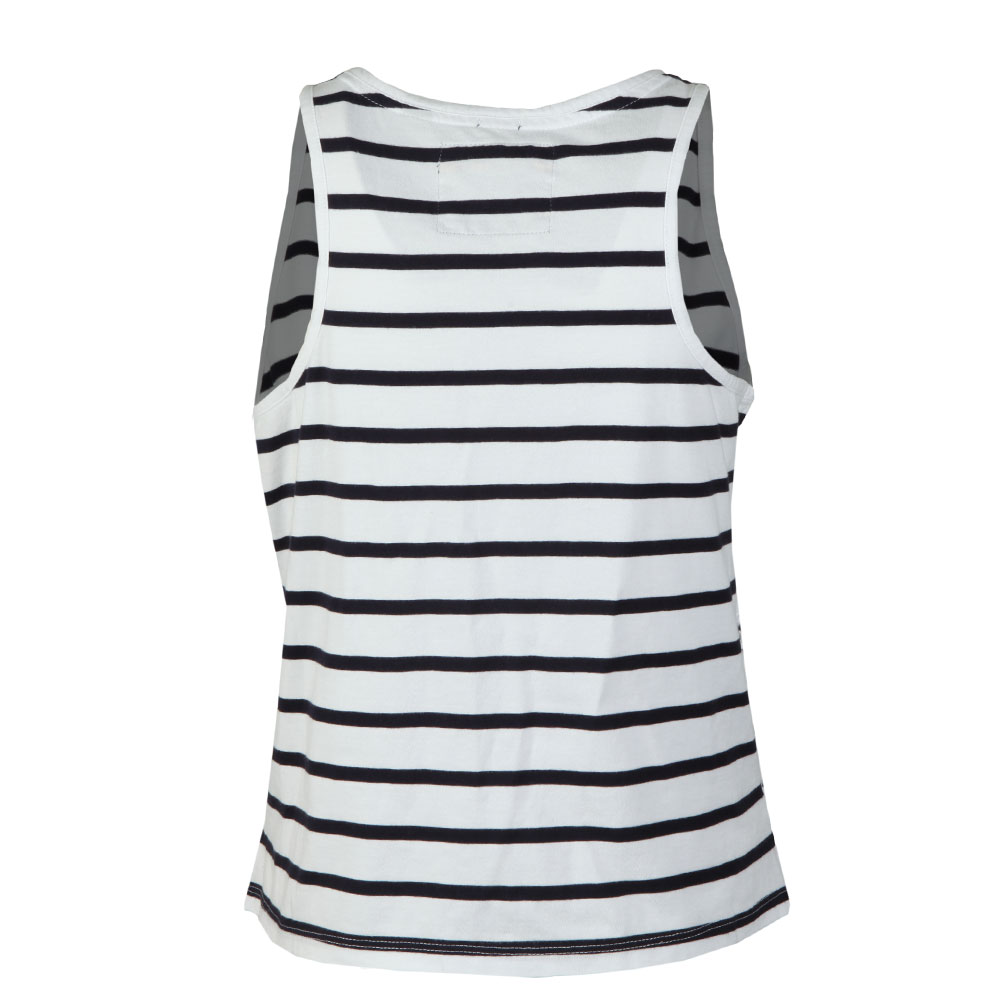 Pacific Broderie Stripe Tank main image