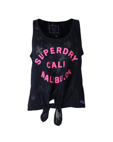 Superdry Womens Blue Surf Beach Tank