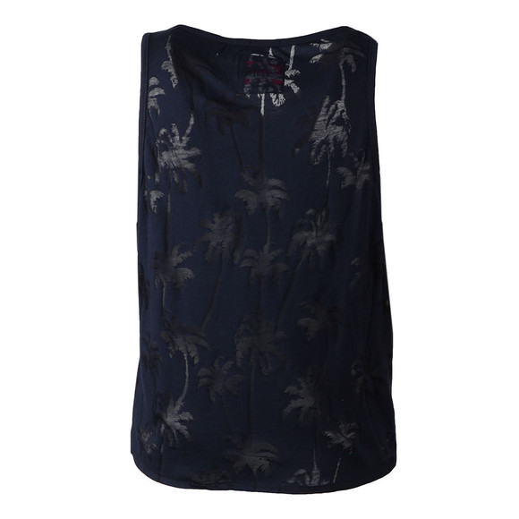 Superdry Womens Blue Surf Beach Tank main image