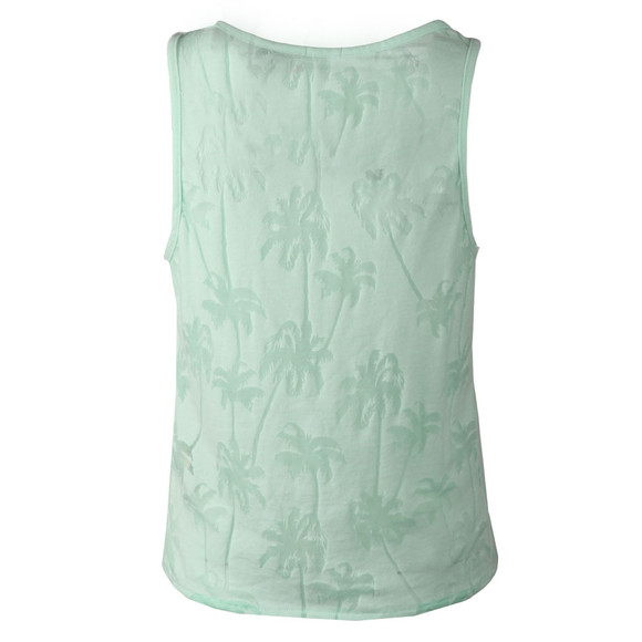 Superdry Womens Green Surf Beach Tank main image