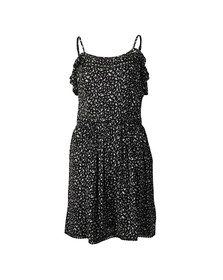 Superdry Womens Black Bardot Cami Dress