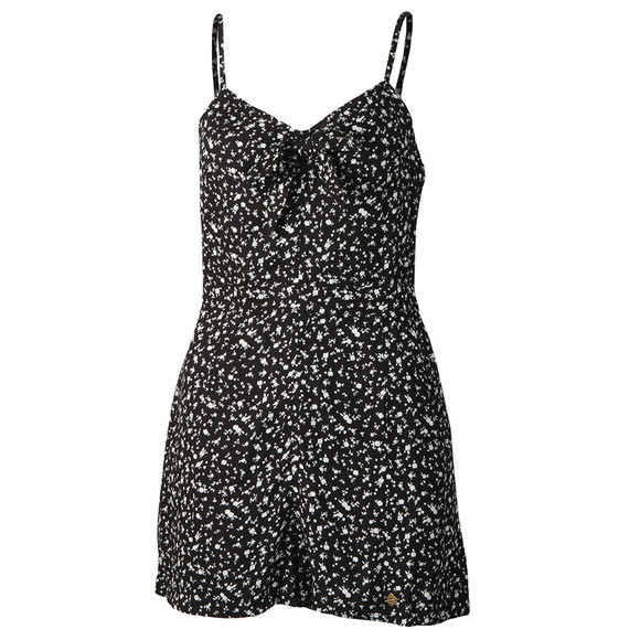 Superdry Womens Black Alice Knot Playsuit main image