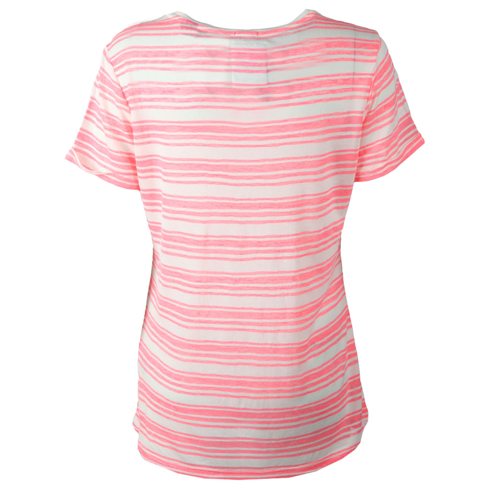 Multi Stripe Burnout T Shirt main image