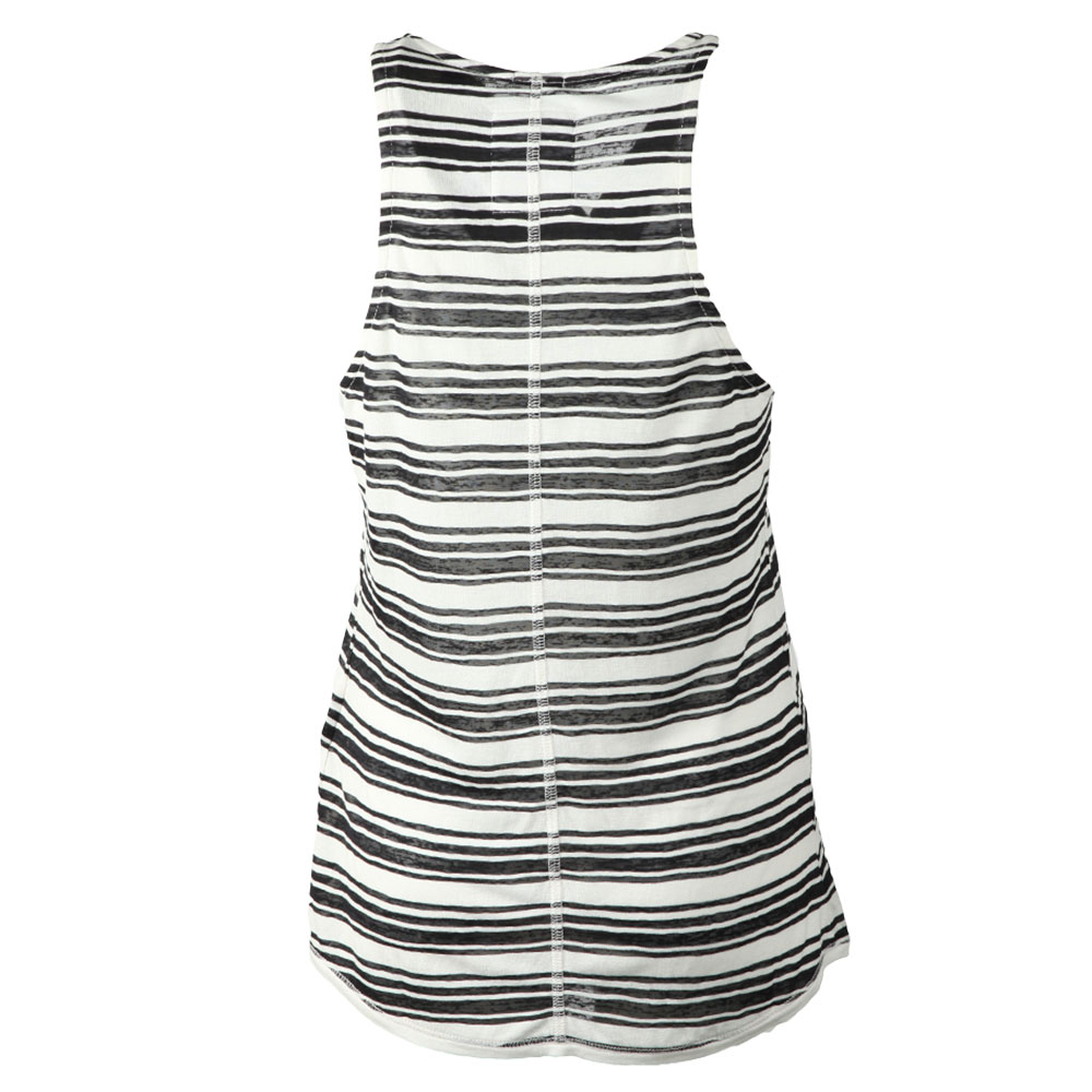 Multi Stripe Burnout Vest main image