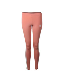 Adidas Originals Womens Pink 3 Stripes Legging