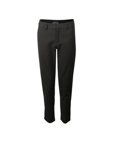 Maison Scotch Womens Black Side Tapping Tailored Stretch Pants