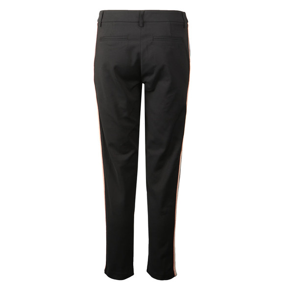 Maison Scotch Womens Black Side Tapping Tailored Stretch Pants  main image