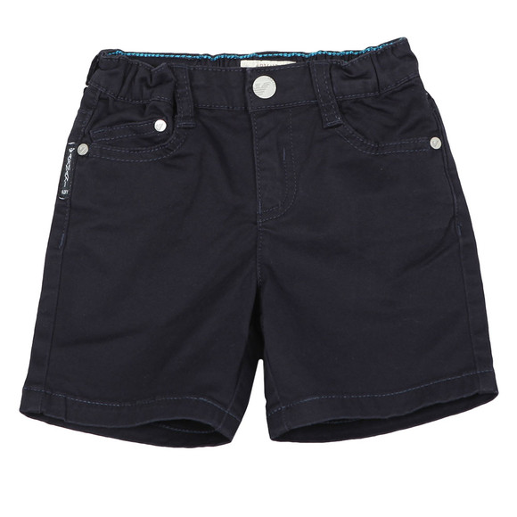 Armani Baby Boys Blue Chino Shorts main image