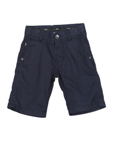 BOSS Bodywear Boys Blue J24524 Chino Short