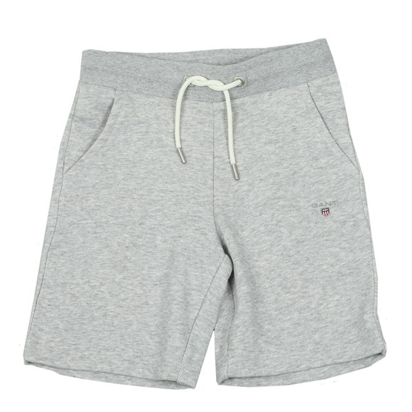 Gant Boys Grey Boys Original Sweat Short