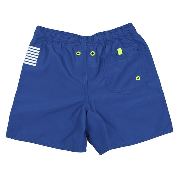 EA7 Emporio Armani Boys Blue Logo Swim Short main image