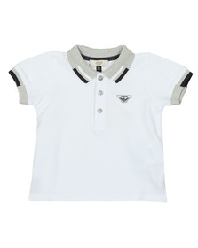 Armani Baby Boys White 3ZHF01 Polo Shirt