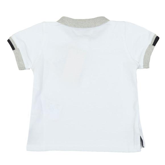Armani Baby Boys White 3ZHF01 Polo Shirt main image