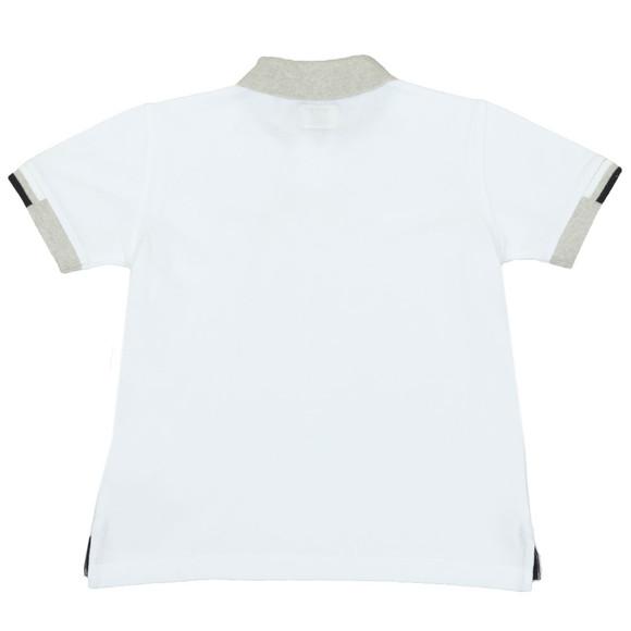 Armani Junior  Boys White 3Z4F01 Polo Shirt main image