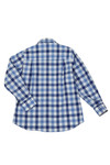 Paul & Shark Cadets Boys Blue Large Check Shirt