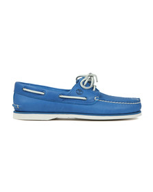 Timberland Mens Blue Heritage Boat Shoe