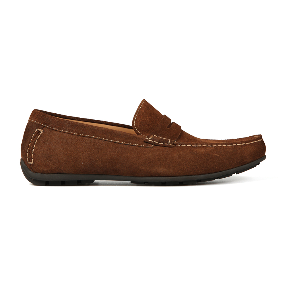 Goodwood Suede Moccasin Shoe main image