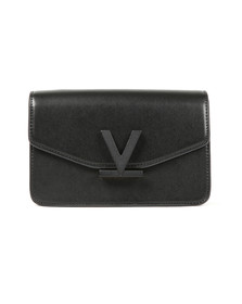 Valentino by Mario Womens Black Galeone Bag