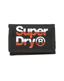 Superdry Mens Black Lineman Wallet