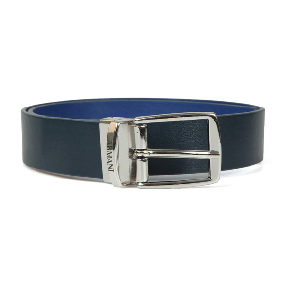 Armani Junior  Boys Blue Reversible Leather Belt