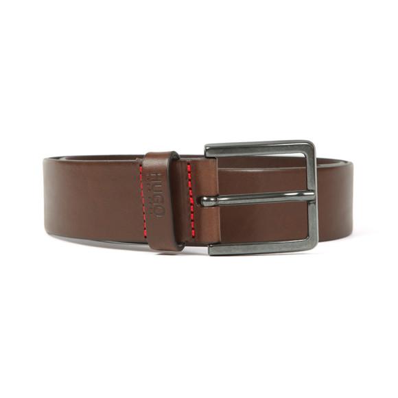 HUGO Mens Brown Gionio Belt
