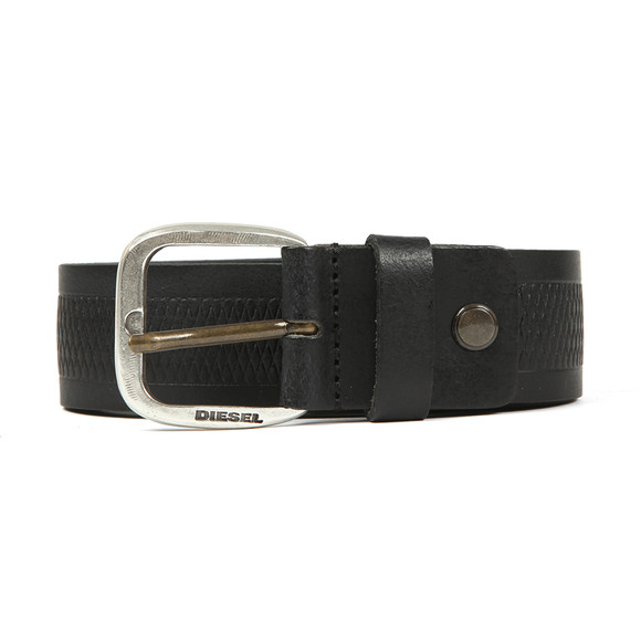 Diesel Mens Black Wildd Leather Belt main image