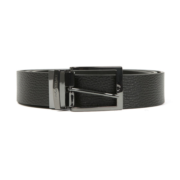 Emporio Armani Mens Black Y4S195 Reversible Belt